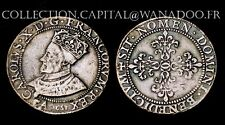 Charles X Franc d'Argent reproduction en étain. 1590 Paris. Reproduction fin XIX