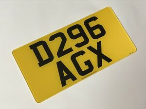 Rear 12x6 road legal Import Number Plate 100% MOT Compliant Free Post