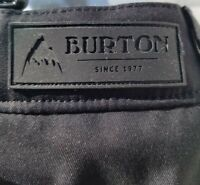 Burton Living Lining Dryride Black Gloria Snow Ski Snowboard Pants Size XL