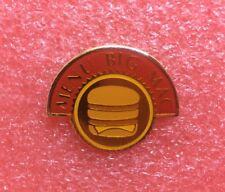 Pins MAC DO MENU BIG MAC MC McDonald's McDonalds Crew Lapel Pin Vintage