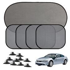 5PCS Car Side Rear Window Sun Shade Visor Mesh Windshield Sunshade Block Cover