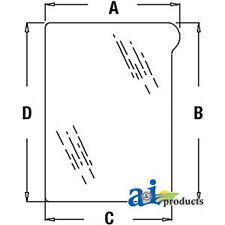 John Deere Parts GLASSLOWER RH WINDSHIELD  L151753 7530E PREMIUM (European),7530