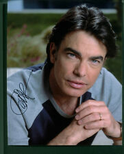 PETER GALLAGHER SIGNED 8X10 COLOR PHOTO
