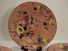 "Vintage Baker & Co. England 9"" ""Los Angelous"" Plates Set of Three"