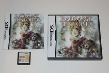 Radiant Historia Nintendo DS Video Game Complete