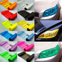 Color Changing Tint Vinyl Wrap Sticker Headlight Film Auto Car Light Lamp Grand