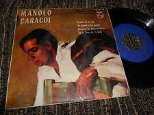 """MANOLO CARACOL&JUAN CARMONA Tientos de la rosa +3 EP 45 7"""" 1962 FLAMENCO"""