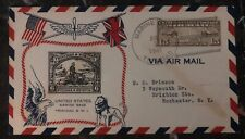 1941 Usa Marines Usmc Detachment In Trinidad Cover to Rochester Ny