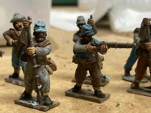 Redoubt and Perry's  28mm ACW Confederates Painted Metal American Civil War