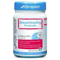 Life-Space Breastfeeding Probiotic 50 Vege Capsules with Iodine and Vitamin D