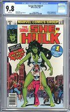 Savage She-Hulk #1 (1980) NEWSSTAND CGC 9.8 *1st Appearance of She-Hulk!*