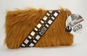 "Star Wars Chewbacca Pencil Case Disney 9"" x 5"" With Republic Charm UK"