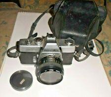 Minolta SRT 101 35mm SLR Film Camera with Bower Lens  55mm- Nice Camera.