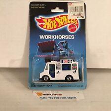#8 Good Humor Truck 5904 White * Malaysia 1986 * Hot Wheels * J11