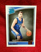 MINT LUKA DONCIC 2018 PANINI DONRUSS RATED ROOKIE Card RC #177 DALLAS MAVS MVP