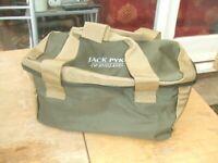 Jack Pyke Green Hunting Clay Range 100 Shell Hull Shotgun Cartridge Carry Bag