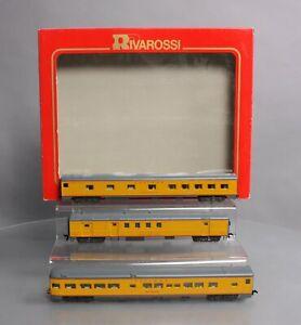 Rivarossi 6963 HO Union Pacific 1930's 3-Car Passenger Set (Set B)/Box