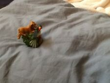 Lenox thimble Simba and Zazu Miniature