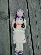 """New listing Old Native American Antique Paiute 11"""" Doll"""