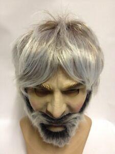 Kenny Rogers casual grey wig