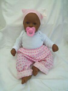 Zapf Creation Ethnic / Black Chou Chou Doll 18 inches