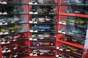 Minichamps F1 Cars1:43 Ferrari Mclaren Mercedes Renault Williams-NOS SOLD ASUSED