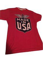 Homage Made In USA Tshirt; Medium Size