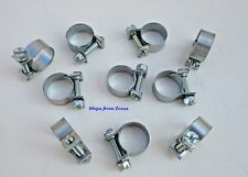 """3/8"""" ID Miniature Hose Clamps Range 13.5-16 MM Lawnmower Car Truck Tractor"""