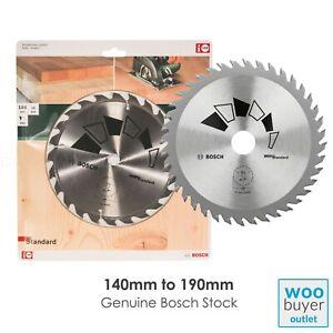Bosch Circular Saw Blade STANDARD - 140mm to 190mm - Tungsten carbide - For Wood