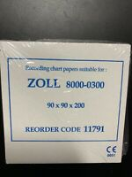 ECG EKG Thermal Paper Zoll 8000-0300 Compatible Sheets For M Series - 5 Pads