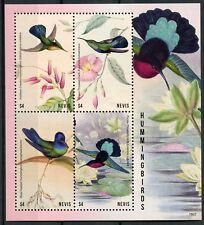 Nevis Birds on Stamps 2018 MNH Hummingbirds Carib Hummingbird 4v M/S