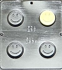 Smiley Face Chocolate Oreo Cookie Mold 1638 NEW