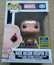 Funko Pop! Marvel -Deadpool/Wade Wilson X-Men (Weapon XI) #489 SDCC 2020