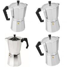 MagiDeal Aluminum Coffee Moka Maker Expresso Stove Percolator 3/6/9/12 Cups
