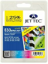 T3337 BBCMY Multipack Remanufactured Ink Cartridge by JetTec for Epson E33BBCMY