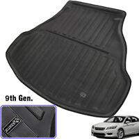 For Honda Accord 9th gen 13-17 Cargo Liner Rear Trunk Tray Boot Floor Mat Carpet