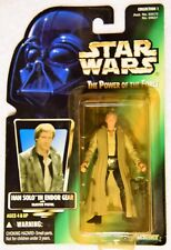 Star Wars Power of the Force HAN SOLO IN ENDOR GEAR w/ Blaster Pistol Japanese