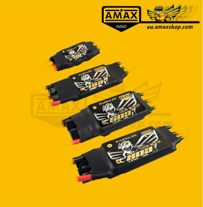 AMAXinno Regler 6 12 40 60 80A mit BEC 2 4 6S LiPo Flugzeug Brushless Motor ESC