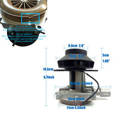 Car Truck Blower Motor Combustion Air Fan Small Noise Diesel Parking Heater 12V