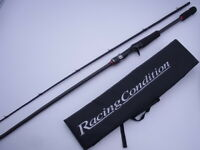 Megabass Racing Condition World ED RCC-702MH 2ps Casting Rod VG+ FREE SHIP TO US