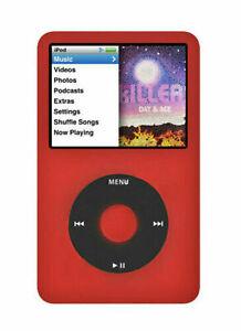 Apple iPod Classic 7th Generation 512GB Red/Black SSD Custom (2000mAh) LATEST
