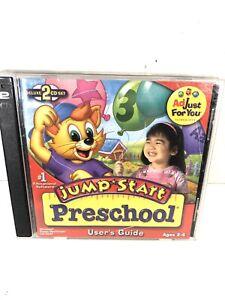 Jump Start Preschool (PC Windows/Mac CD-ROM Deluxe 2 CD edition W/ Sing A Long