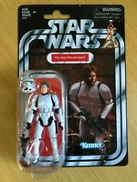 STAR WARS VINTAGE COLLECTION ANH HAN SOLO STORMTROOPER 3 3/4 INCH FIGURE EXCLUSI