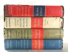 Vol 1-4 A History Of The English Speaking Peoples by Winston Churchill
