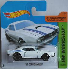 Hot Wheels - ´68 / 1968 COPO Camaro / Chevy weiß Neu/OVP