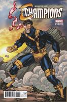 CHAMPIOINS #10 JIM LEE X-MEN TRADING CARD VARIANT MARVEL COMICS CYCLOPS
