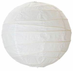 Ikea Regolit Lampshade 1, 2, 3 or 4 Pack Rice Paper White 45 cm Diameter
