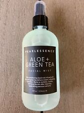 NEW Pearlessence Aloe & Green Tea Refreshing Facial Spray Mist (8 oz, USA)