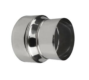 Stainless Steel Stove Pipe Reducer / Tube Connector / Chimney Flue Liner Adaptor