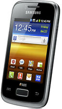 Samsung Galaxy Y Duos GT-S6102 - Strong Black (Unlocked) Smartphone